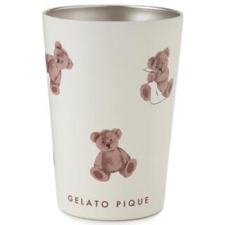 gelato pique - ジェラートピケ ベアモチーフコンビニカップタンブラー ジェラピケ クマ柄 くま柄