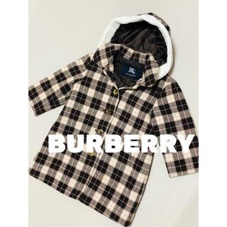 バーバリー(BURBERRY)のバーバリー BURBERRY チェック コート ジャケット 美品 100(コート)