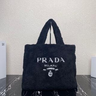 PRADA - PRADA◆テリー トートバッグ Black