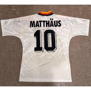 adidas - ドイツ代表 マテウス 10番 ユニフォーム 1994ワールドカップ アメリカ大会