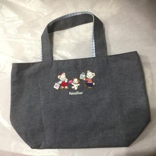 familiar - 阪急コラボ  ファミリアトートバッグ