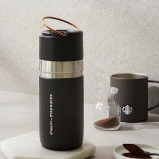Starbucks Coffee - 韓国 スタバ スタンレー ブラック アンド ゴールド 500ml