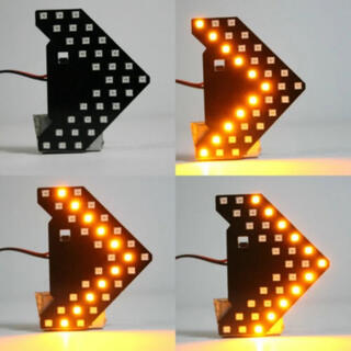 数量限定!LED シーケンシャル ドアミラーウィンカー 2個セット