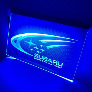 ☆1点限り☆Subaru ネオン LED アクリル ディスプレイ STI スバル