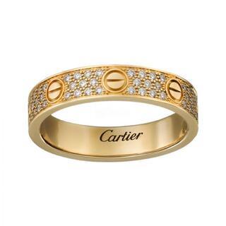 Cartier - Cartier LOVE ウェディングリング ダイヤモンド  12号