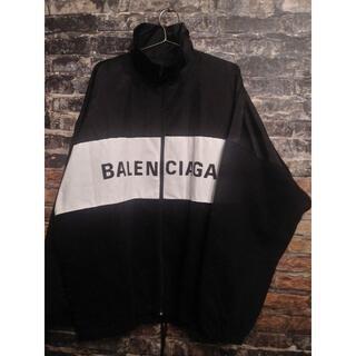 バレンシアガ(Balenciaga)のBALENCIAGA デニムトラックジャケット【34】(ナイロンジャケット)