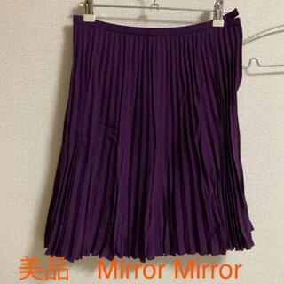 アクアガール(aquagirl)の美品 プリーツスカート 膝上 アクアガールで購入(ひざ丈スカート)