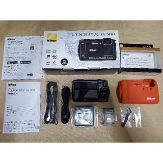 Nikon - 極美品 ニコン クールピクス Nikon COOLPIX W300 ブラック 黒
