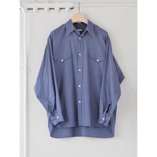 COMOLI - 【値下げ】COMOLI 21AW - ヨリ杢ワークシャツ