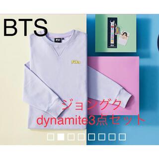 防弾少年団(BTS) - BTS FILA ジョングク dynamite 3点セット S