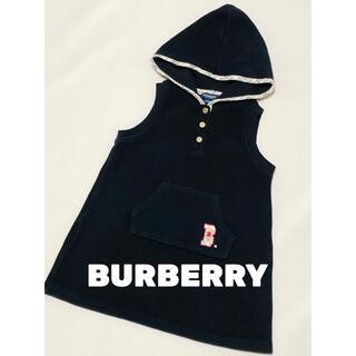 バーバリー(BURBERRY)のバーバリー BURBERRY ワンピース ジャンパースカート 美品 100(ワンピース)
