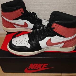 NIKE - NIKE AIR JORDAN 1 RETRO HIGH TRACK RED