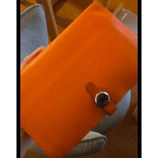 エルメス(Hermes)の【今月末まで!!!】エルメス ドゴン オレンジ(財布)