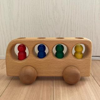 ケラー社 4人乗りバス 木のおもちゃ