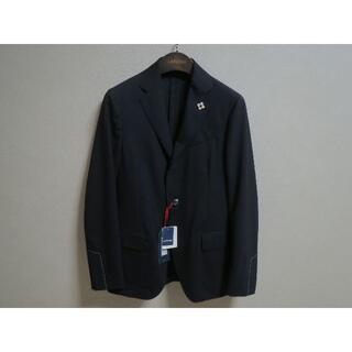 ビームス(BEAMS)のLARDINI easy wear ストレッチウール ジャケット ネイビー 新品(テーラードジャケット)