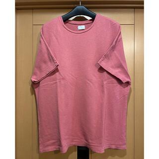 COMOLI - URU pile Tシャツ