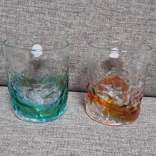 琉球ガラス グラス2個