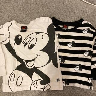 ベビードール(BABYDOLL)のbaby doll 長袖Tシャツ ミッキー柄 2枚セット(Tシャツ)