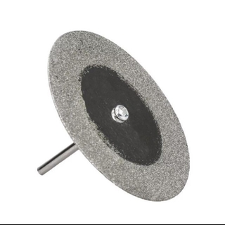 ダイヤモンド マンドレル付き60mmの乾湿両方とも使える高級ダイヤモンド薄刃(その他)