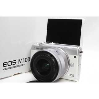 Canon - ❤️スマホ転送&カンタン自撮り❤️Canon EOS M100 ホワイト