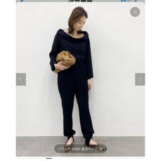 L'Appartement DEUXIEME CLASSE - コルピエロ ジョーゼット裾リブパンツ