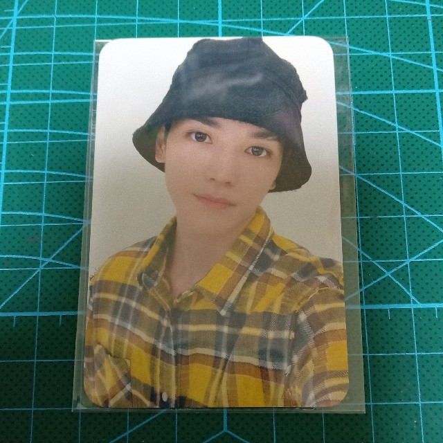 NCT127 「sticker」 mu-mo特典 テヨン トレカ エンタメ/ホビーのCD(K-POP/アジア)の商品写真