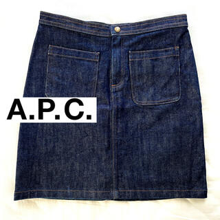 A.P.C - A.P.C デニムスカート インディゴ
