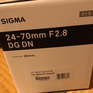SIGMA - SIGMA 24-70mm F2.8 DG DN | Art ソニーemount