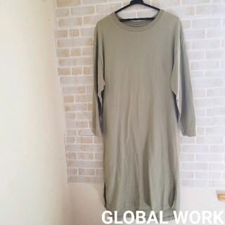 GLOBAL WORK - GLOBAL WORK  USAコットン ワンピース