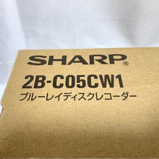 SHARP AQUOS ブルーレイレコーダー 2チューナー 500GB HDD搭