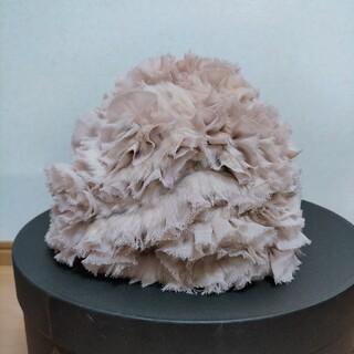 カシラ(CA4LA)のCA4LA ファー帽子 レディース(ニット帽/ビーニー)