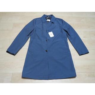ビームス(BEAMS)のKIRED  リバーシブルステンカラーコート ブルー / ネイビー 新品 (ステンカラーコート)