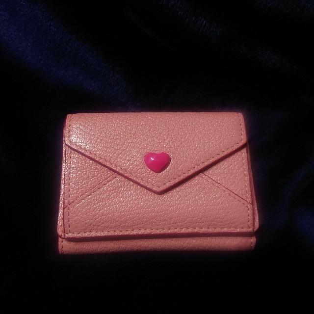 miumiu(ミュウミュウ)のmiumiu ミュウミュウ 本物 未使用 ラブレター ミニウォレット ミニ財布 レディースのファッション小物(財布)の商品写真