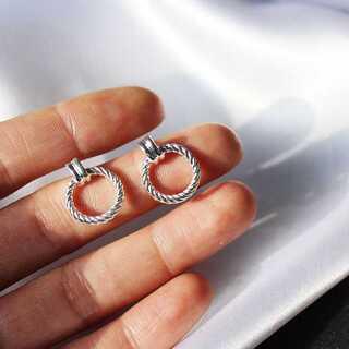 トゥデイフル(TODAYFUL)の#941 import pierce : deluck silver(ピアス)