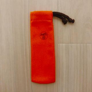 エルメス(Hermes)のHERMES エルメス 香水 保存袋 布袋 巾着袋 携帯ケース 巾着袋 小物入れ(ポーチ)