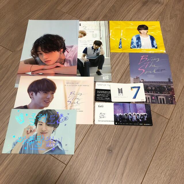 防弾少年団(BTS)(ボウダンショウネンダン)のジョングク ポストカードセット BTS エンタメ/ホビーのCD(K-POP/アジア)の商品写真