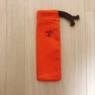 エルメス(Hermes)のHERMES エルメス 香水 保存袋 布袋 巾着袋 携帯ケース 小物入れ(ポーチ)