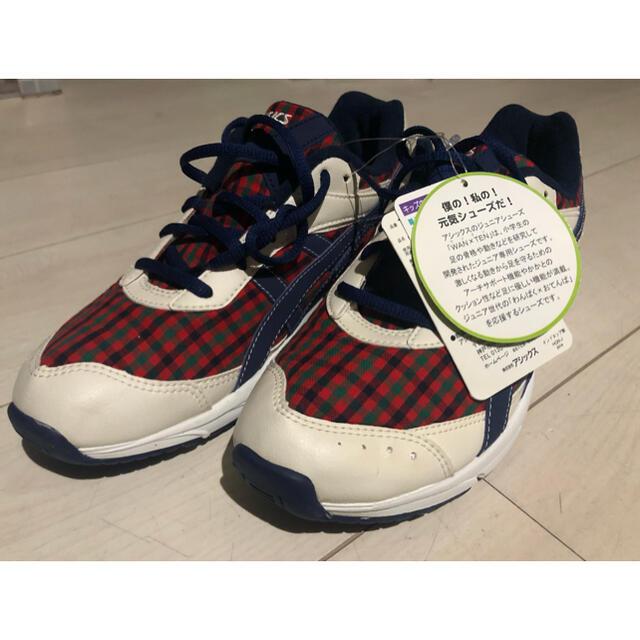 familiar(ファミリア)のファミリア   アシックス スニーカー レディースの靴/シューズ(スニーカー)の商品写真