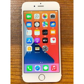 アイフォーン(iPhone)のiPhone 6s 32GB Rose gold SIMフリー(スマートフォン本体)