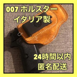 【新品】イタリア製 007 スペクター ホルスター ジェームズ・ボンド(その他)