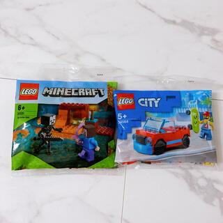 レゴ(Lego)の★新品未開封★レゴ★LEGO★30568★30331★レゴシティ★マインクラフト(知育玩具)