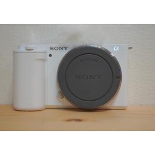 SONY - 【ほぼ未使用】ソニー VLOGCAM  ZV-E10 ホワイト ボディ