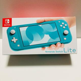 Nintendo Switch - 【超美品】任天堂スイッチNINTENDO SWITCH LITE ター…