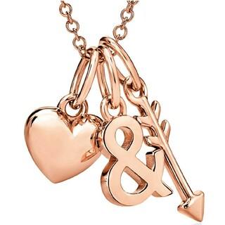 Tiffany & Co. - ティファニー K18 ローズゴールド ハート&アロー ネックレス ペンダント