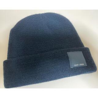 ギャップ(GAP)のGAP ニット帽 ネイビー レディース(ニット帽/ビーニー)