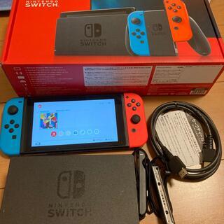 Nintendo Switch - Nintendo Switch JOY-CON(L)(R)本体 中古 動作品