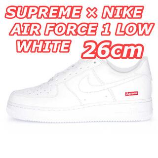 Supreme - SUPREME × NIKE AIR FORCE 1 LOW WHITE