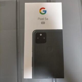 Google Pixel - pixel 5a 5g ブラック SIMロック解除済み