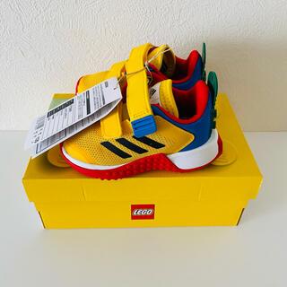 adidas - 新品 タグ付き adidas LEGO  スニーカー 12cm 黄色