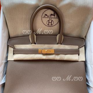 Hermes - 2021年 Z刻印 エトゥープ✖️ゴールド金具 HERMES バーキン30 トゴ